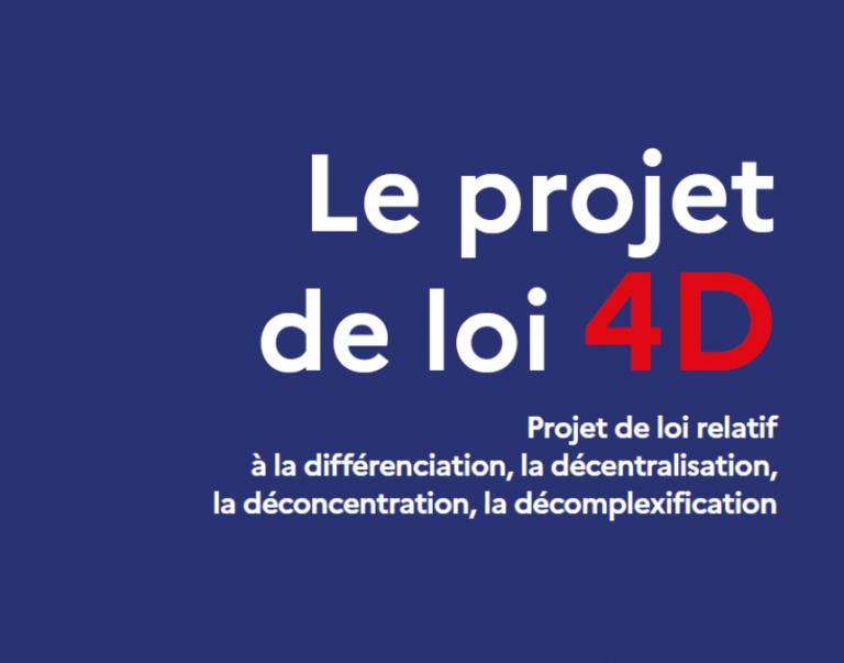 Projet de loi « 4D »